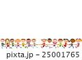 綱引をする子供達 25001765
