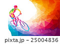 Professional cyclist involved in a bike race 25004836