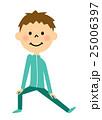 子供 男の子 体操のイラスト 25006397
