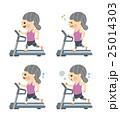 フィットネス ランニングマシン 女性 25014303
