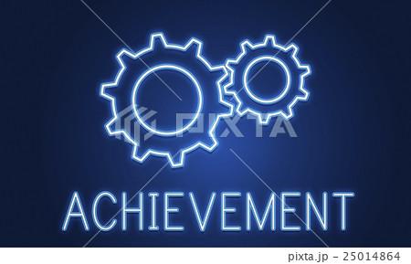 Business Achievement Progress Develpoment Cogwheel Conceptのイラスト素材 [25014864] - PIXTA