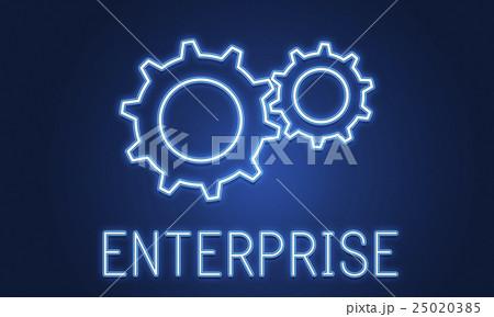 Business Achievement Progress Develpoment Cogwheel Conceptのイラスト素材 [25020385] - PIXTA