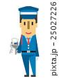 警備員【フラット人間・シリーズ】 25027226