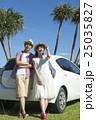 ドライブをするカップル 25035827