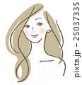 女性 髪型 ロング 25037335