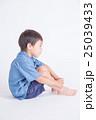 青い服の子供 25039433