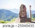 陣馬山・山頂・かながわの景勝50選の石碑・標高の案内 25040435