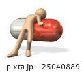 薬物依存を表すアブストラクト3DCGイラスト 25040889