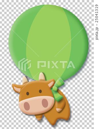 空飛ぶ牛 25041319