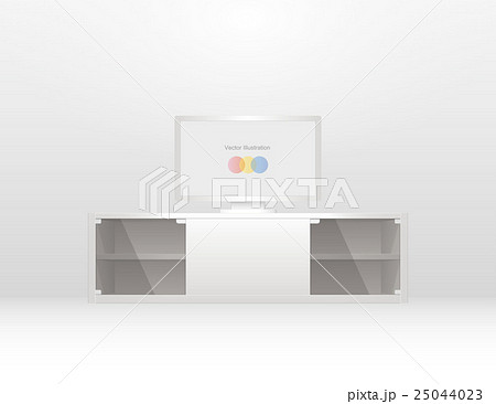 Flat panel television (Silver) 25044023