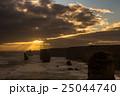オーストラリア 奇岩群 夕方の写真 25044740