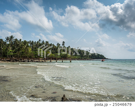 Beautiful tropical beach in Koh Kood island 25046679