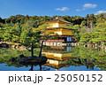 京都 青空と金閣寺 25050152