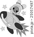 宇宙飛行士の姿をした可愛いウサギ 25057497