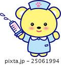 看護師 注射 注射器のイラスト 25061994
