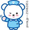 ベクター 熊 看護師のイラスト 25062851