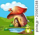 かえる カエル 蛙のイラスト 25065288