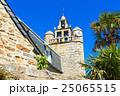 ブレア島の教会と青空 25065515