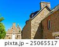 ブレア島の教会と石造りの建物 25065517