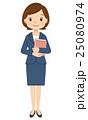 女性 ビジネス 先生のイラスト 25080974