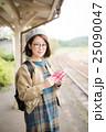 読書 女性 ポートレート 25090047