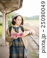 読書 女性 ポートレート 25090049