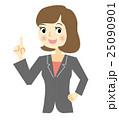 ビジネスウーマン 表情 チェック 25090901