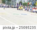 運動会 走る リレーの写真 25095235