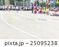 運動会 走る リレーの写真 25095238