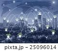 繋がる グローバル 都会の写真 25096014