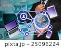 結びつき 繋がり ビジネスマンの写真 25096224