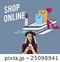 Eコマース オンラインショッピング ネットショップの写真 25098941