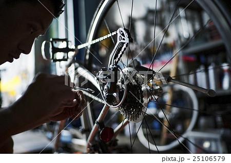 メッセンジャー 自転車整備 25106579