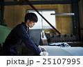人物 男性 町工場の写真 25107995