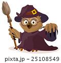 ふくろう フクロウ 梟のイラスト 25108549