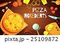 Pizza Ingredients Background 25109872