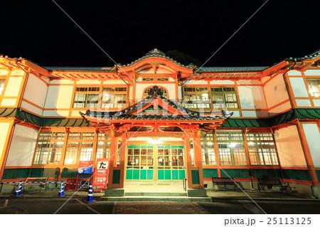 武雄温泉大衆浴場の資料館 ライトアップ  25113125