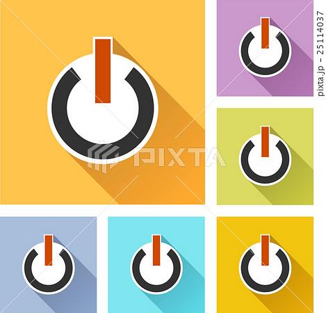 power iconsのイラスト素材 [25114037] - PIXTA