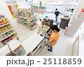 コンビニ コンビニエンスストア コンビニ店員の写真 25118859