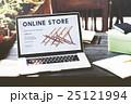 電子商取引 オンラインショッピング ノートパソコンの写真 25121994
