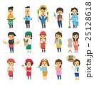 働く人々【フラット人間・シリーズ】 25128618