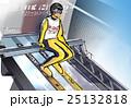 スキージャンプ-スタート前 25132818