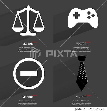 Set of icons. Collection symbols. Modern Flat webのイラスト素材 [25134277] - PIXTA