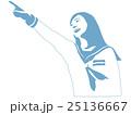 ベクター 中学生 女の子のイラスト 25136667