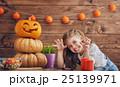 ハロウィン ハロウィーン カボチャの写真 25139971