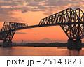 東京ゲートブリッジの夕景 25143823