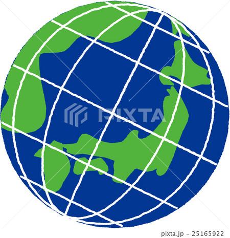 地球_イラスト_ラフのイラスト素材 [25165922] - PIXTA