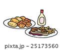 高カロリーの食事 25173560