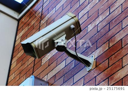 防犯カメラ 25175691
