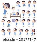 女性 人物 CAのイラスト 25177347
